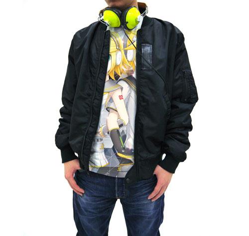 鏡音リン&鏡音レン/鏡音リン・レン V4X/鏡音リン・レン V4X フルグラフィックTシャツ