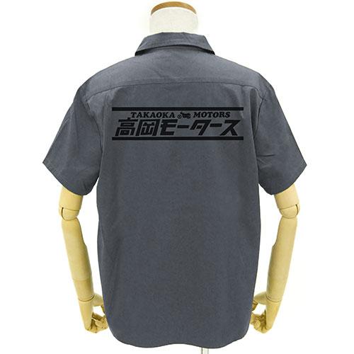 タイガーマスク/タイガーマスクW/高岡モータース ワッペンベースワークシャツ