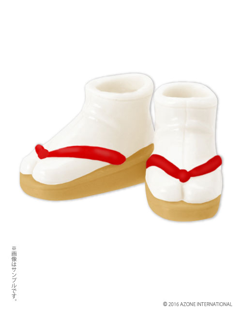 AZONE/ピコニーモコスチューム/PIC124【1/12サイズドール用】1/12 ソフビ製草履