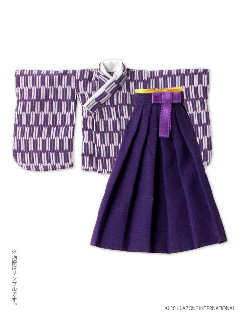 AZONE/ピコニーモコスチューム/PIC123【1/12サイズドール用】1/12 矢絣袴セット