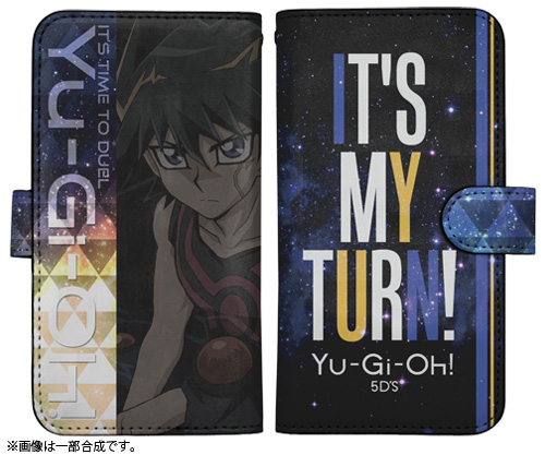 遊☆戯☆王/遊☆戯☆王5D's/不動遊星 手帳型スマホケース