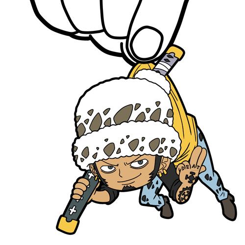 ONE PIECE/ワンピース/★JF限定★「ペンギン&シャチ2年前Ver.」つままれストラップつき ハートの海賊団つままれストラップセット(ロー・ベポ2年前Ver.)