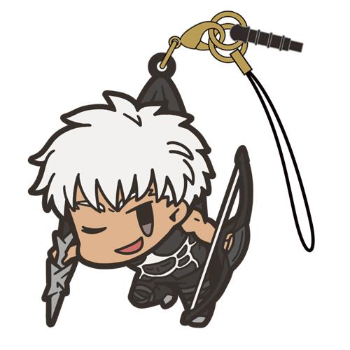 Fate/Fate/Grand Order/Fate/Grand Order アーチャー/エミヤつままれストラップ