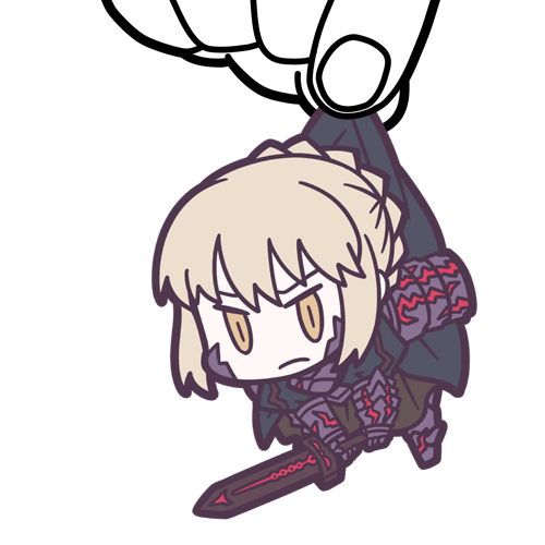Fate/Fate/Grand Order/Fate/Grand Order セイバー/アルトリア・ペンドラゴン[オルタ]つままれキーホルダー
