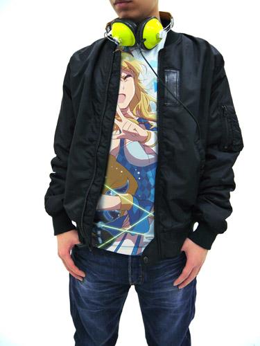 THE IDOLM@STER/THE IDOLM@STER/プラチナスターズ星井美希フルグラフィックTシャツ
