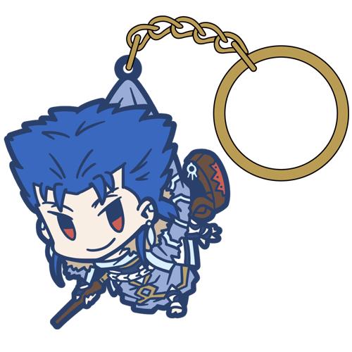Fate/Fate/Grand Order/Fate/Grand Order キャスター/クー・フーリンつままれキーホルダー