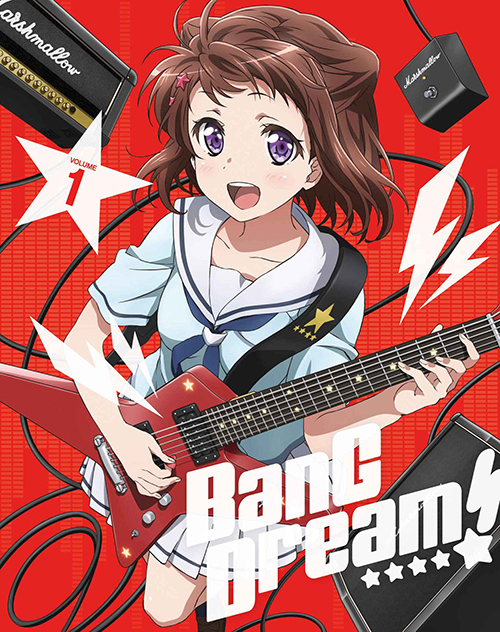 BanG Dream!(バンドリ!)/BanG Dream!(バンドリ!)/★GEE!特典付★BanG Dream! Vol.1【Blu-ray】