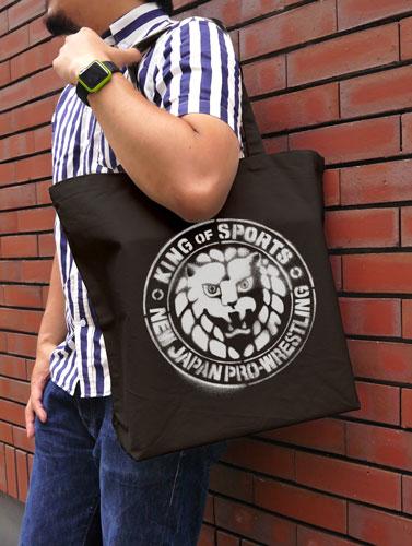 新日本プロレスリング/新日本プロレスリング/NJPWステンシルライオンマーク ラージトート