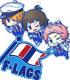★数量限定★【「F-LAGSユニットロゴラバーストラップ」つき】...