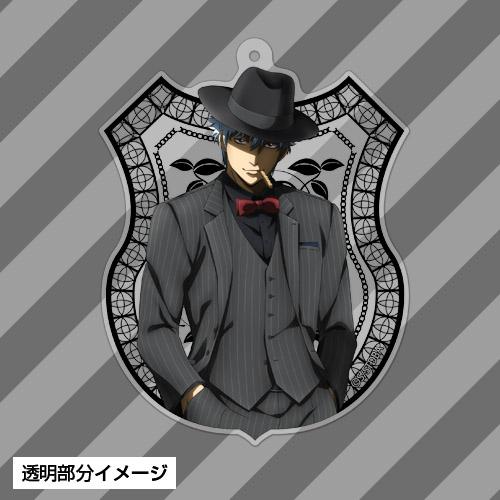 銀魂/銀魂/坂田銀時アクリルキーホルダー ノワールVer.