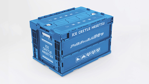 ユーリ!!! on ICE/ユーリ!!! on ICE/ユーリ!!! on ICE アイスキャッスルはせつ業務用折りたたみコンテナ