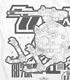 ボールK型Tシャツ