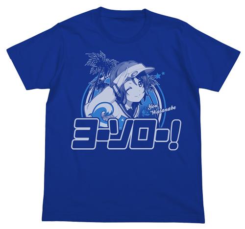 ラブライブ!/ラブライブ!サンシャイン!!/渡辺曜エモーショナルTシャツ
