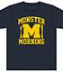 中西学「MONSTER MORNING」Tシャツ