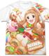 ともだちたくさん 市原仁奈フルグラフィックTシャツ
