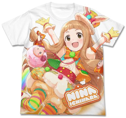 THE IDOLM@STER/アイドルマスター シンデレラガールズ/ともだちたくさん 市原仁奈フルグラフィックTシャツ