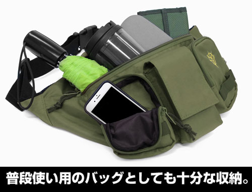 ガンダム/機動戦士ガンダム/ザク ウエストバッグ