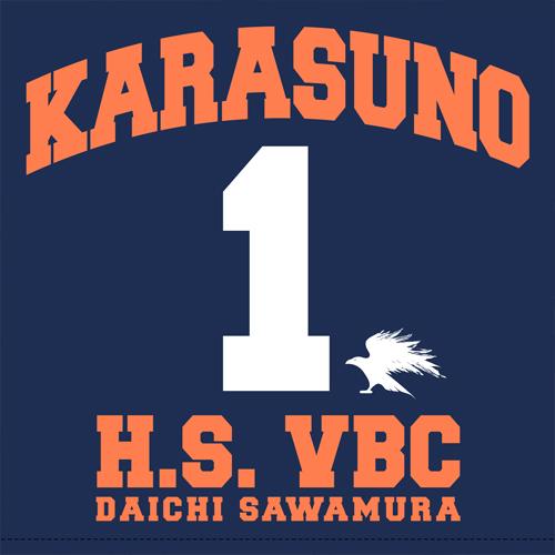 ハイキュー!!/ハイキュー!! 烏野高校 VS 白鳥沢学園高校/澤村大地クッションカバー