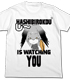 ハシビロコウが見ているTシャツ