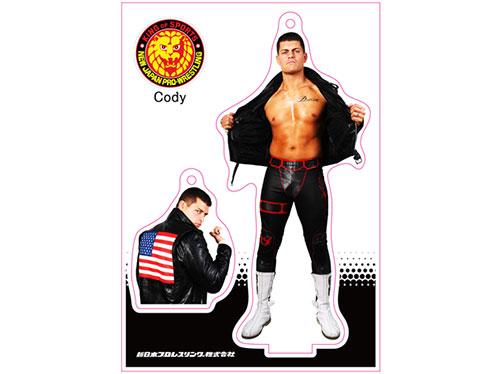 新日本プロレスリング/新日本プロレスリング/フィギュアシートキーホルダー Cody