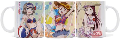 ラブライブ!/ラブライブ!サンシャイン!!/千歌・梨子・曜フルカラーマグカップ