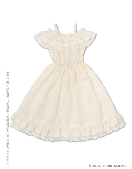 AZONE/Pureneemo Original Costume/PNM144【1/6サイズドール用】PNMオフショルダーフリルワンピース