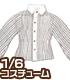 AZONE/Pureneemo Original Costume/ALB165【1/6サイズドール用】こもれび森のお洋服屋さん♪「PNXSピンストライプクレリックシャツ」