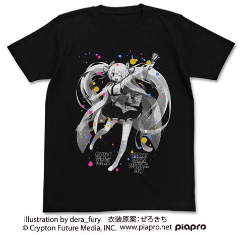 初音ミク/雪ミク YOSAKOIソーラン祭り/★限定★雪ミク YOSAKOIソーラン祭り2017 Tシャツ