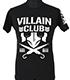 マーティー・スカル「VILLAIN CLUB」Tシャツ