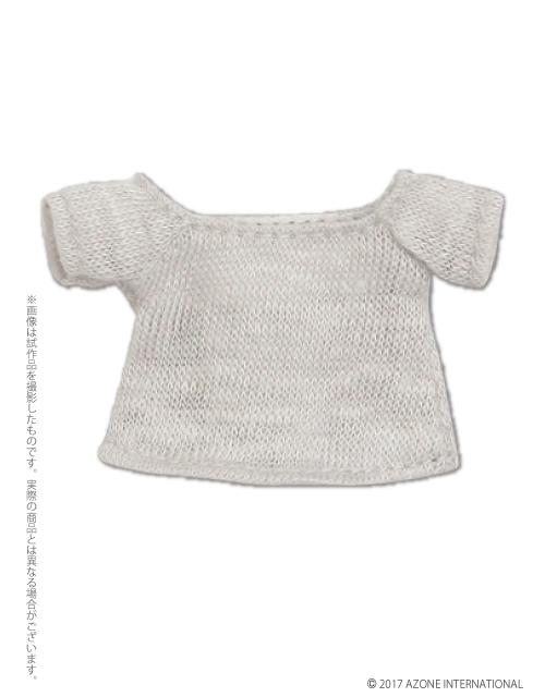 AZONE/ピコニーモコスチューム/PIC153【1/12サイズドール用】ゆる襟サマーニット
