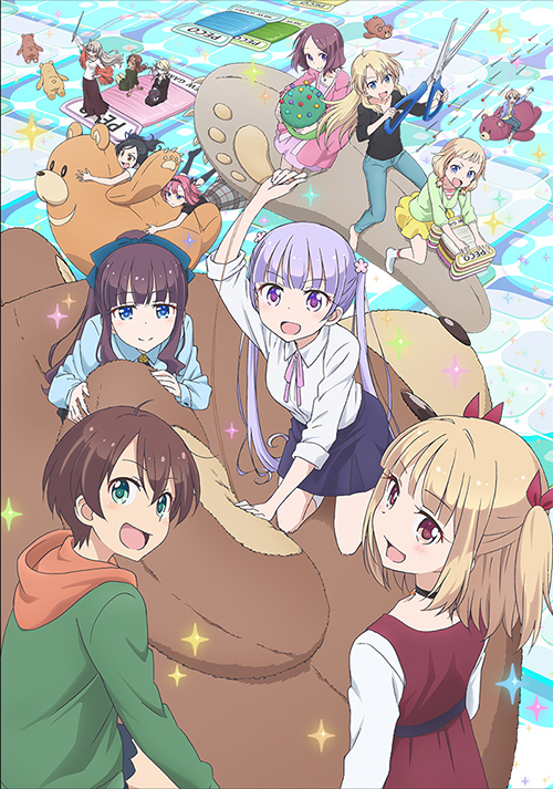 NEW GAME!/NEW GAME!!/★GEE!特典付★NEW GAME!! Rank.6【Blu-ray】