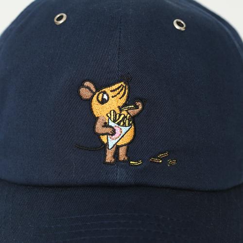 MAUS/MAUS(TM)/Maus 帽子 マウス ポテトフライ(大人用)革ベルト(ドイツメーカー製)