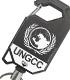 国連G対策センター リールキーホルダー