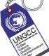国連G対策センター備品PVC樹脂製キーホルダー