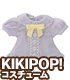AZONE/KIKIPOP!/KPT019【KIKIPOP!用】きのこプラネット「リボンフリルブラウス」
