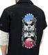 ★限定★レム&ラム刺繍ワークシャツ