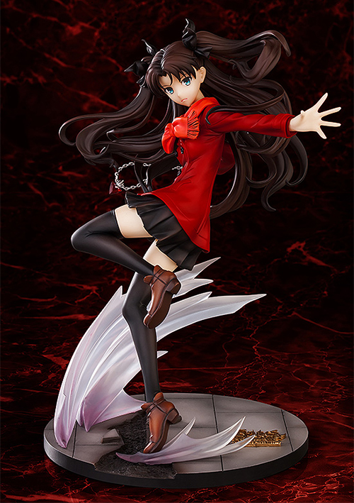 Fate/Fate/stay night - UNLIMITED BLADE WORKS/遠坂凛 1/7 ABS&PVC製塗装済み完成品