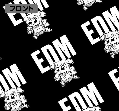 ポプテピピック/ポプテピピック/EDMオールプリントTシャツ