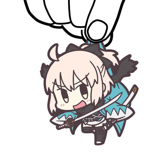Fate/Fate/Grand Order/Fate/Grand Order セイバー/沖田総司つままれキーホルダー