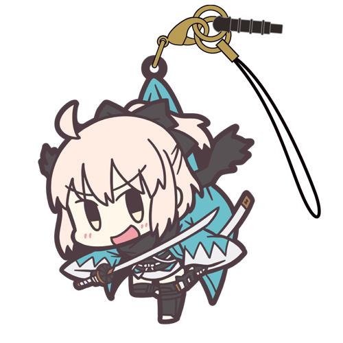 Fate/Fate/Grand Order/Fate/Grand Order セイバー/沖田総司つままれストラップ