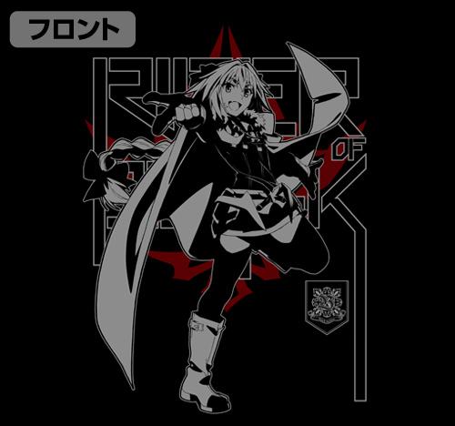 Fate/Fate/Apocrypha/黒のライダーTシャツ