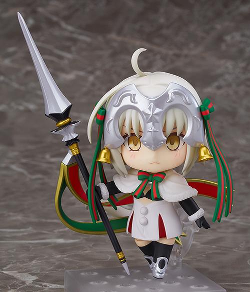 Fate/Fate/Grand Order/ねんどろいど ランサー/ジャンヌ・ダルク・オルタ・サンタ・リリィ ABS&PVC塗装済み可動フィギュア
