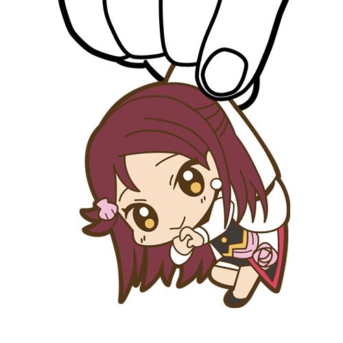 ラブライブ!/ラブライブ!サンシャイン!!/桜内梨子つままれキーホルダー MIRAI TICKET Ver.