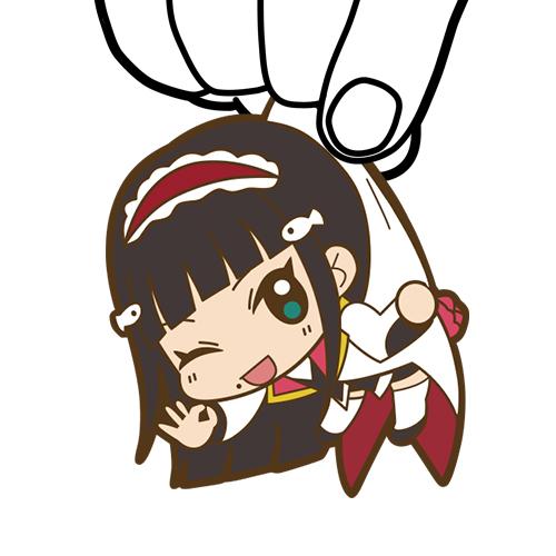 ラブライブ!/ラブライブ!サンシャイン!!/黒澤ダイヤつままれキーホルダー MIRAI TICKET Ver.