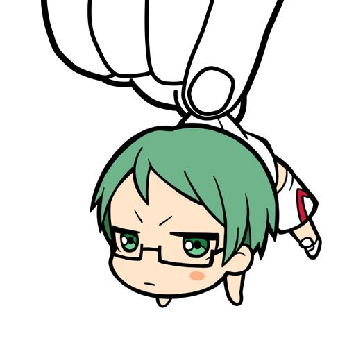 黒子のバスケ/劇場版 黒子のバスケ LAST GAME/緑間真太郎つままれストラップ