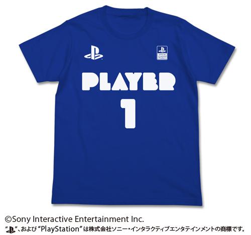 """プレイステーション/プレイステーション/プレイヤー1Tシャツ """"PlayStation"""""""