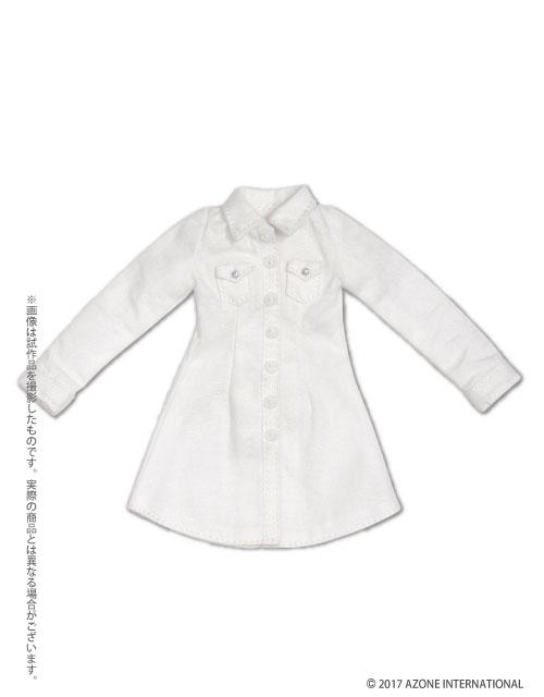 AZONE/Pureneemo Original Costume/POC412【1/6サイズドール用】PNSシャツワンピ