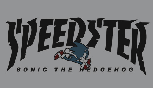 ソニック・ザ・ヘッジホッグ/ソニック・ザ・ヘッジホッグ/SPEEDSTERソニック パーカー