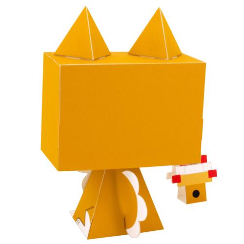 キヤノン Creative Park/キヤノン Creative Park/グラフィグ447 柴犬