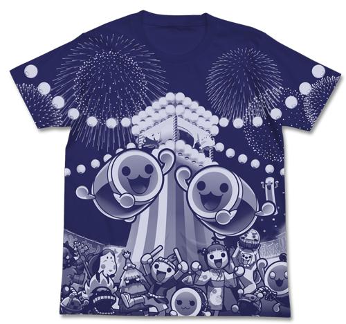 太鼓の達人/太鼓の達人/太鼓の達人 オールプリントTシャツ